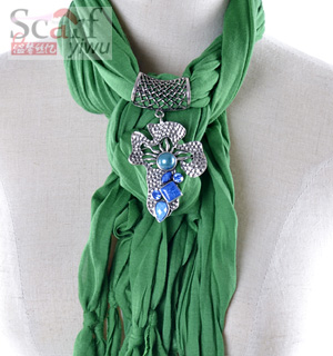 Cross jewellery necklace pendant scarf
