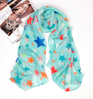 wholesale cheap 100% polyester scarf