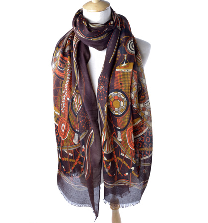 wholesale fashion long silk scarf from China