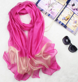 Pure silk scarf wholesale
