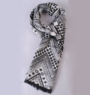 Fall winter mens scarves