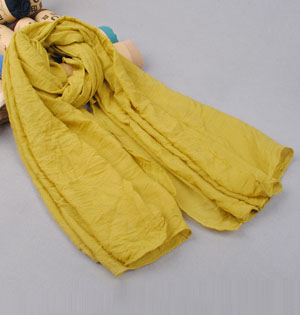 Cotton pure color scarf wholesale