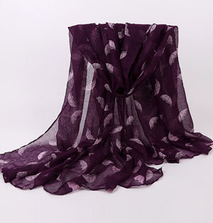 Pretty scarves for women