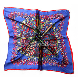Wholesale fashion women's silk scarf