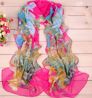 Wholesale super soft printed scarves shawl