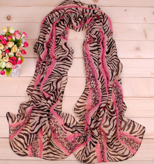 Tiger leopard print fashion scarves wholesale
