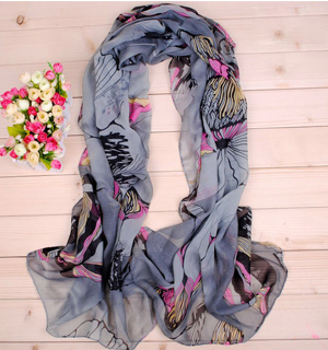 Printed scarves wholesale fashion abstract graffiti