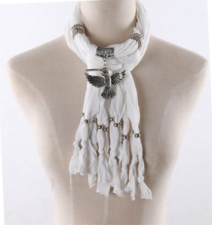 Wholesale hummingbird pendant scarves