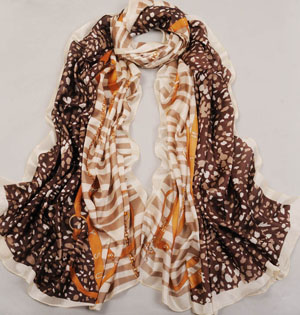 Wholesale belt printing stitching scarves