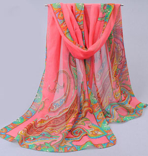Wholesale candy color stitching scarves