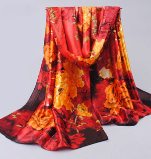Classic silk Chiffon scarves wholesale