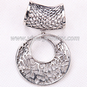 Quality zinc alloy scarf pendant accessories