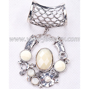 Diamond scarf necklace jewelry