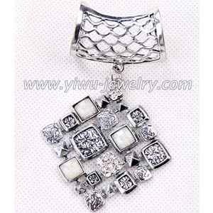 Pendant rhinestone square jewelry accessory