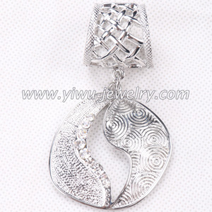 wholesale oval hollow scarves pendant