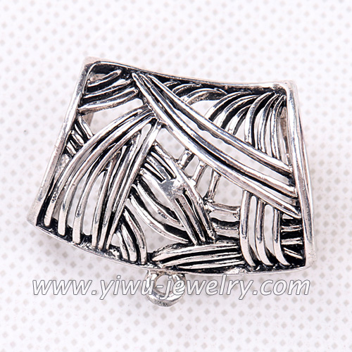 Striped alloy slider scarves accessories