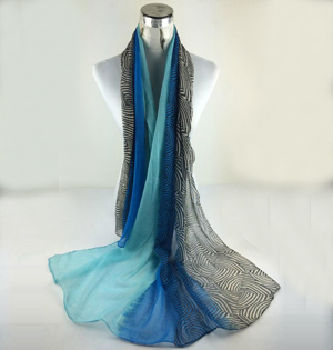 Striped stitching shawl scarves wholesale