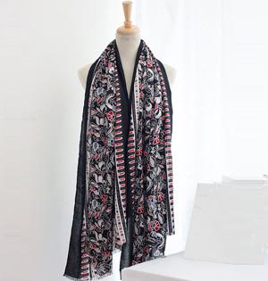 cotton ethnic vintage scarf wholesale china scarf