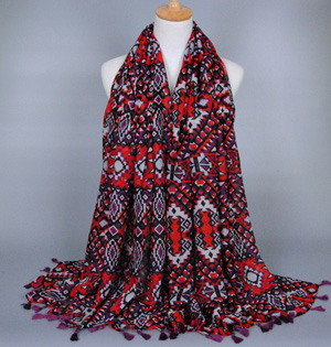 Southeast asian viscose scarf wholesale