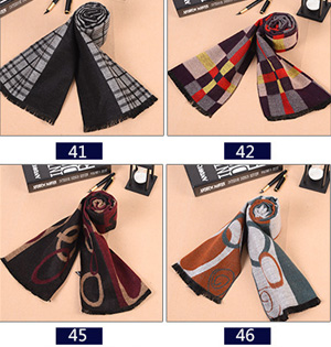 Wholesale modal fringed scarf mens