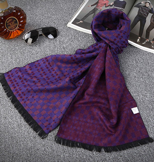 Wholesale cotton warm men scarf