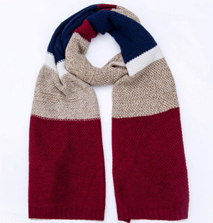 Wholesale men winter wool scarf
