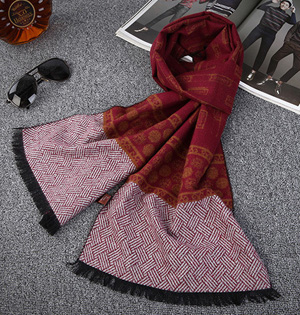 Wholesale men warm winter scarf