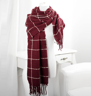 Wholesale winter wool blend scarf