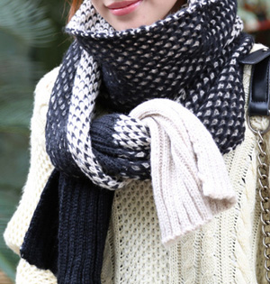 Women winter wool scarf wholesale
