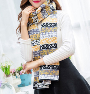 Wool ethnic scarf wholesale