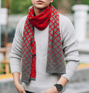 Wholesale cashmere scarf men