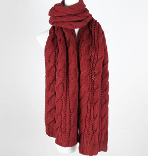 Irish wool scarf women
