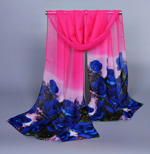 Wholesale silk thin scarves