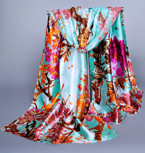 Spain silk scarf wholesale