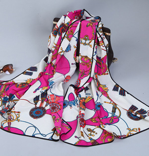Pashmina silk scarf wholesale
