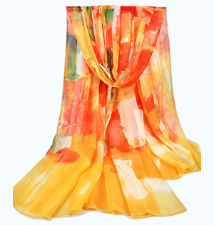 Extra long silk scarves wholesale