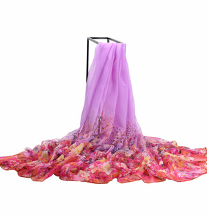 Wholesale beach chiffon shawl