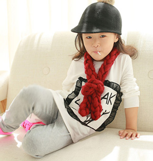 Wholesale kids winter scarf