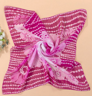Wholesale chiffon square scarf women