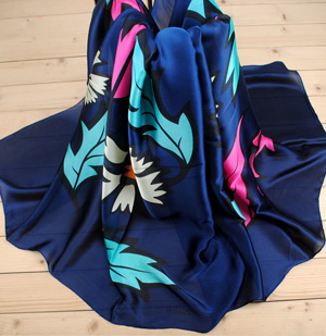 Wholesale silk long scarf